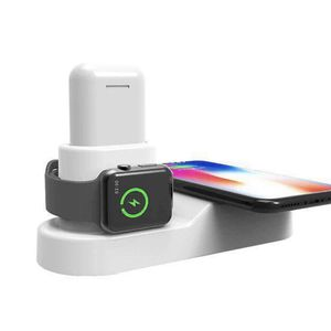 Home W3 Wireless Charger Three in One Four in One Mobile Phone Watch Headset Multifunction One Wireless Charging for Sale in Kirkland, WA