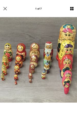 Russian nesting dolls for Sale in McLean, VA