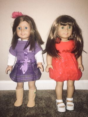 Large set of American girl dolls with accessories for Sale in Dover, FL