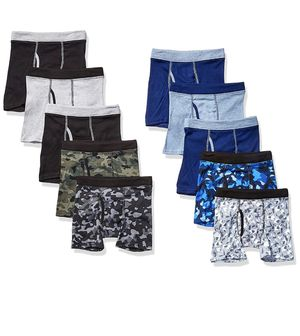 Hanes Boys' ComfortSoft Waistband Boxer Briefs 10-Pack for Sale in Gaithersburg, MD