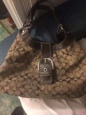 Large Coach purse - authentic for Sale in Denver, CO