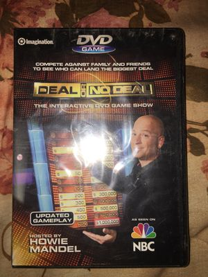 Deal or no deal dvd game for Sale in AZ, US
