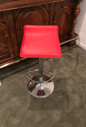 Red bar stool for Sale in Brandywine, MD