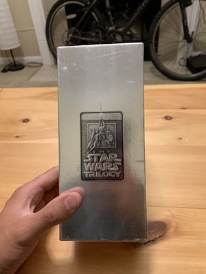 **EXCELLENT CONDITION** Star Wars Trilogy Special Edition movie vhs set for Sale in Midlothian, VA