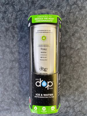 EveryDrop by Whirlpool Refrigerator Water Filter 4 for Sale in Everett, WA