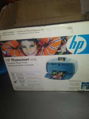 Photo printer $25 just needs ink for Sale in Stockton, CA
