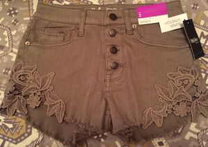 BRAND NEW WITH TAGS High Waisted Shorts Size 2 for Sale in Lutz, FL