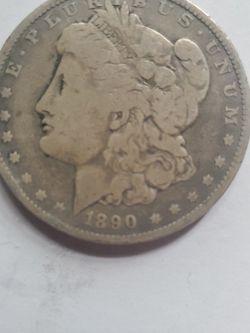 1890 Morgan SILVER DOLLAR for Sale in Chicora,  PA