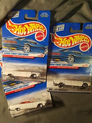 Hot Wheels 1964 Lincoln Continentals for Sale in Newburgh, IN
