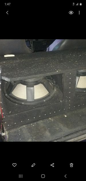 Pro audio 18 bass for Sale in Tampa, FL