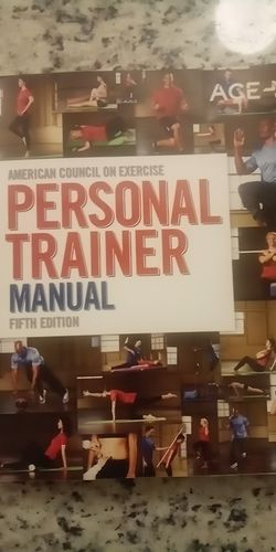 ACE Fitness Personal Trainer Manual for Sale in Waco,  TX
