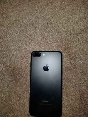 IPHONE 7+ Jet Black for Sale in Fairfax, VA