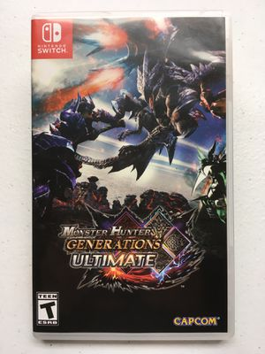 Monster Hunter: Generations Ultimate Nintendo Switch @VGs! for Sale in Austin, TX