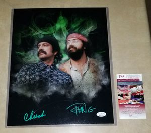 🔥 Cheech and Chong autographed 11x14 JSA COA🔥 for Sale in El Mirage, AZ