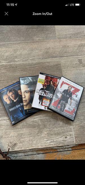 Brad Pitt DVD's for Sale in East Providence, RI