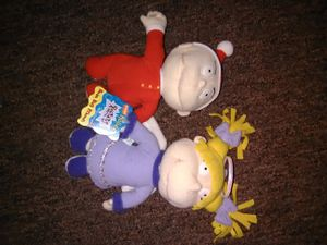 Rugrats beanie babies. Tommy and Angelica. for Sale in Easton, PA