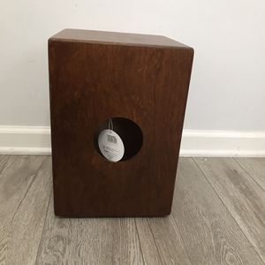 New! Meinl Cajon Box Drum, Full Size with Internal Metal Strings for Adjustable Snare Effect for Sale in Plainfield, IL