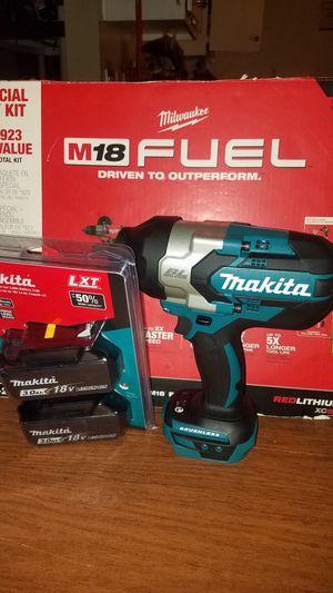 """18v High Torque 1/2""""3-Speed Impact Wrench &3.0 batt package of 2 batt new firm price/precio firme no ofertas for Sale in Escondido, CA"""