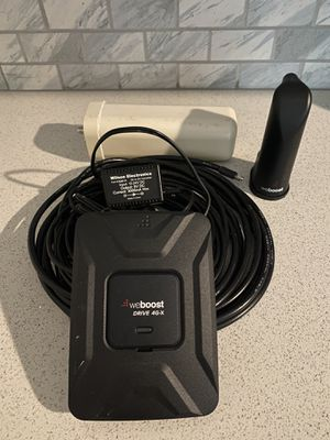 Weboost drive 4g-x for Sale in Canton, GA