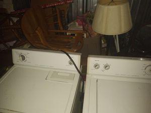 Washer and dryer set/ IN WICHITA,KS! for Sale in Wichita, KS