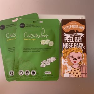 Brand New Mocha Peel Off Nose Pack And Cucumber Masks for Sale in San Francisco, CA
