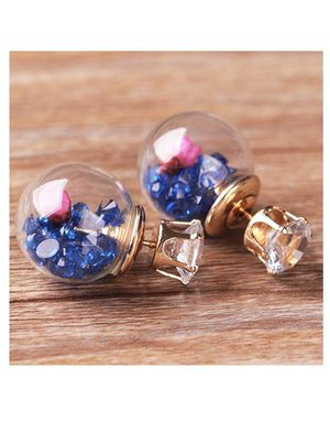 Cool glass ball stud earring 2 pack for Sale in Phoenix, AZ