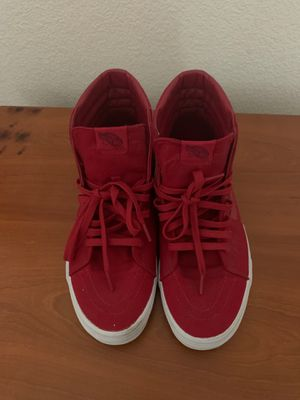 Vans Red high top size 11 for Sale in Antioch, CA