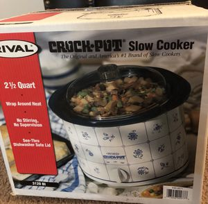 Rival Crock pot slow cooker for Sale in Falls Church, VA