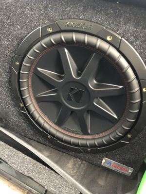 "Single kicker 12"" big box for Sale in Fresno, CA"