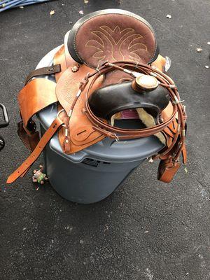 Pony leather saddle never used. $100 or best offer. for Sale in Florham Park, NJ
