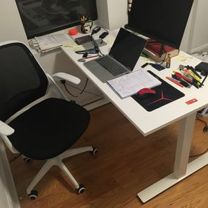 Skarsta IKEA Standing Desk + HBDA Chair for Sale in Brooklyn, NY