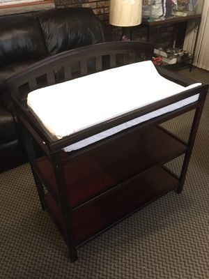 Baby Wooden Changing Table with Mattress for Sale in Staten Island, NY