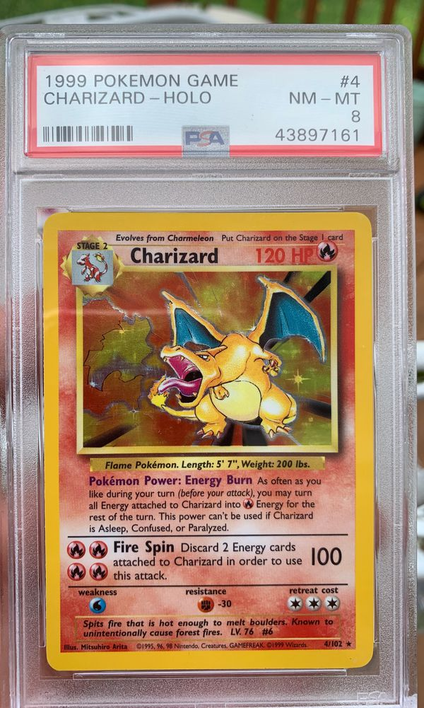 Base set charizard