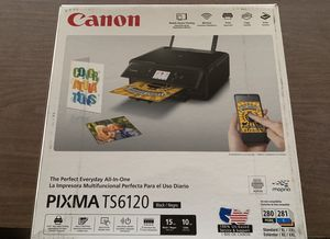 New Canon all in one Printer Copier Scanner with ink for Sale in Dallas, TX