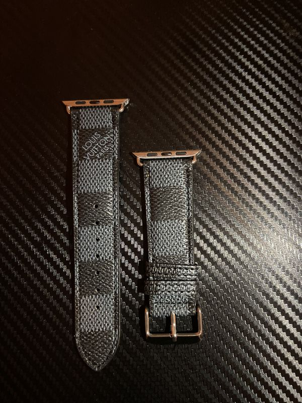 LOUIS VUITTON Apple Watch Band Black