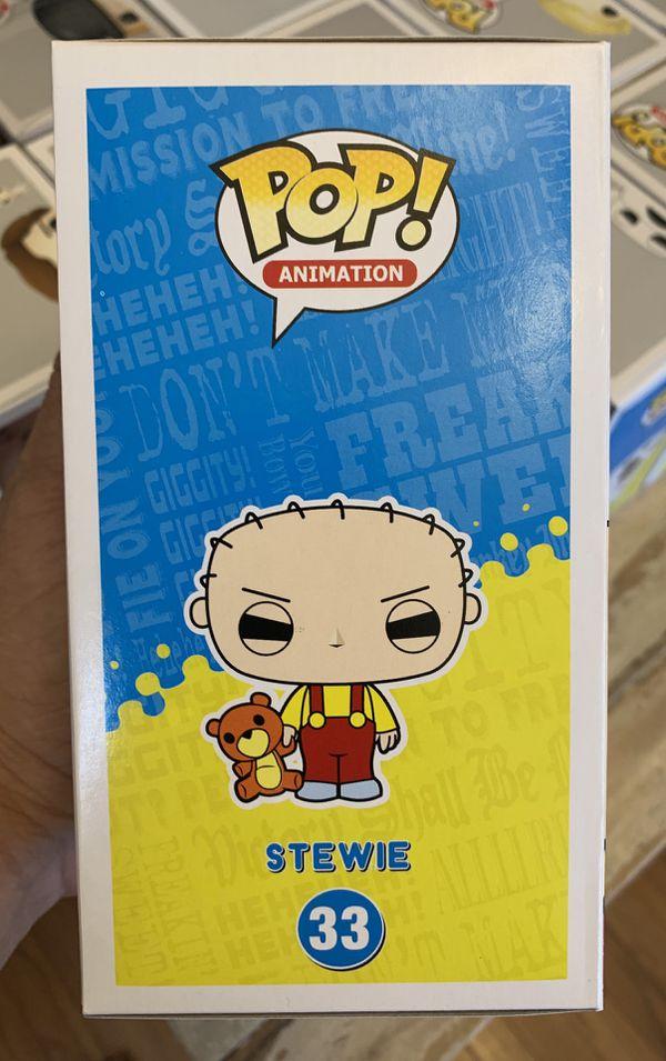 Funko POP! Family Guy Stewie with Rupert