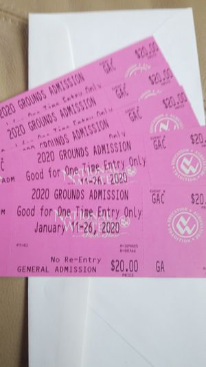 National Western Stock Show Tickets for Sale in Windsor, CO