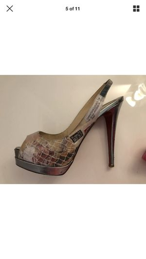 Christian Louboutin 38 special edition high heel shoes for Sale in Miami, FL