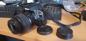 Nikon D3000 with 18-55 lense and battery w/ charger for Sale in Lynchburg, VA