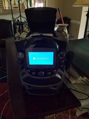 Singing machine, for kareoki for Sale in Manassas, VA