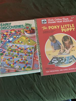 Vintage kid game and puzzle for Sale in Garden Grove, CA