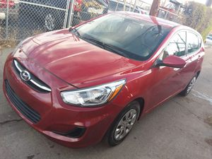 2016 HYUNDAI Accent RED for Sale in Denver, CO