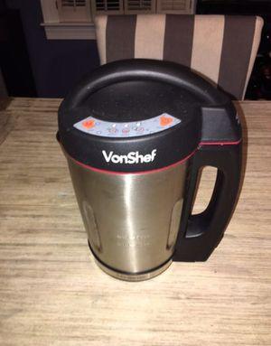 Vonshef Electric Soup Maker Machine Blender for Sale in Alexandria, VA