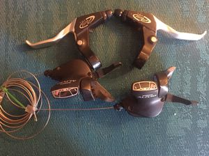 Shimano Alivio 8/3 Shifters with Avid Brake Levers for Sale in Fort Meade, MD