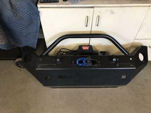 Rockhard bumper. Warn winch for Sale in Valley Center, CA