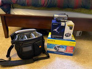 Handycam with accessories for Sale in Kirkland, WA