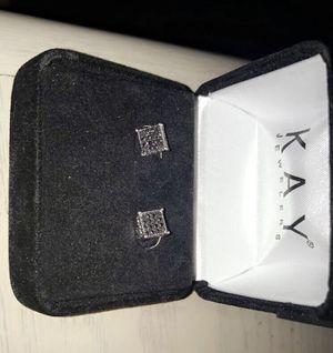 Princess cut Black Diamond Earrings for Sale in New Cumberland, PA