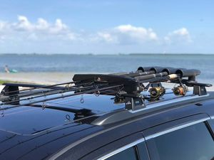 Fishing Rod Roof Rack | Car, Truck, and SUV | Holds up to 8 Rods Fathers Day Gift for Sale in Sandusky, OH