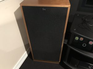 Klipsch forte iii speakers cherry pair for Sale in Chicago, IL