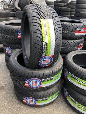 NEW 275/35ZR18 FEDERAL TIRES / LLANTAS FOR SALE! for Sale in Fullerton, CA